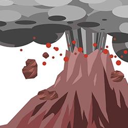 噴火の夢占い