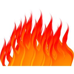 生命エネルギーのシンボル!火の夢占い