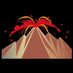 感情の変化を表す!?火山の夢占い